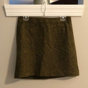 Loft Tweed mini-skirt
